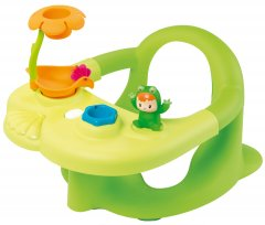 Стульчик для купания Smoby Cotoons с игровой панелью Зеленый (110615) (3032161106151)