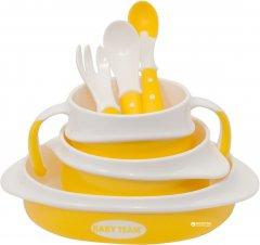 Набор для кормления Baby Team Желтый (6090)