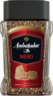 Кофе растворимый Ambassador Nero 190 г (8719325020540)