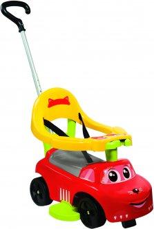 Машина для катания детская Smoby Toys 54 x 40.5 x 47 см Рыжий конек 3 в 1 (720618) (3032167206183)