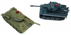 Танковый бой р/у HuanQi 555 Tiger vs Т-34 1:32 (HQ-555) (6928442983665)