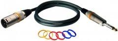 Микрофонный кабель RockCable RCL30381 D6 M 1 м Black (RCL30381 D6 M)