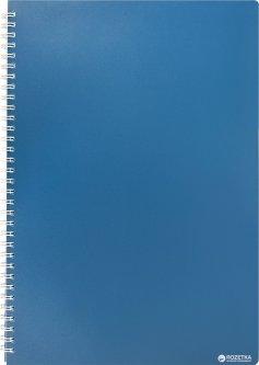 Тетрадь Buromax Classic А4 в клетку 80 листов Синяя (BM.2446-002)