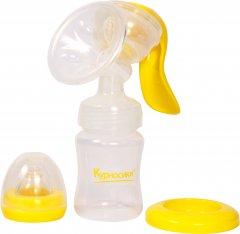 Молокоотсос механический Курносики 7170 с бутылочкой (4890210071701)