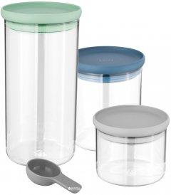 Набор банок для хранения продуктов BergHOFF Leo 3 шт (3950125)