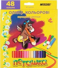 Карандаши цветные Marco Пегашка 48 цветов (1010-48CB)