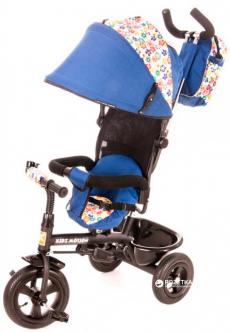 Велосипед трехколесный KidzMotion Tobi Venture Blue (5906395302222) (115002/blue)