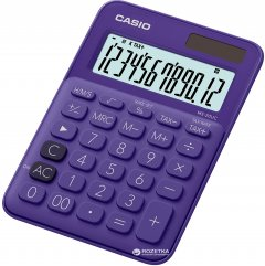 Калькулятор Casio 12 разрядный 105х149.5х22.8 (MS-20UC-PL-S-ES)