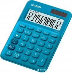 Калькулятор Casio 12 разрядный 105х149.5х22.8 (MS-20UC-BU-S-ES)
