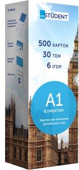 Карточки для изучения английского языка English Student А1 Elementary 500 шт (9789669764744)