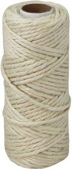 Шпагат джутовый Радосвіт 3 мм х 50 м Белый (4820172932154)