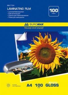 Пленка для ламинации Buromax A4 216 x 303 мм 100 мкм (BM.7724)