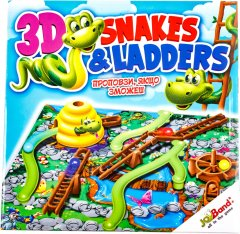 Настольная игра JoyBand Змейки и лестницы (40405) (4897021196128)