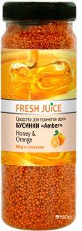 Средство для ванн Fresh Juice Honey & Orange 450 г (4823015925122)