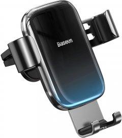 Автодержатель для телефона Baseus Glaze Gravity Car Mount Black (SUYL-LG01)