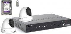 Комплект видеонаблюдения Balter Kit 2MP 2Dome 1ТБ