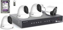 Комплект видеонаблюдения Balter Kit 2MP 3Dome 1Bullet 1ТБ