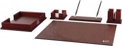 Набор настольный из 5 предметов Cabinet Коричневый (O36594)