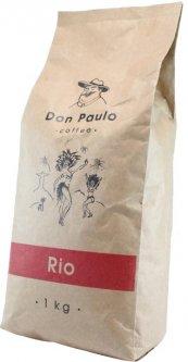 Кофе в зёрнах Don Paulo Rio 1 кг (4820140040195)