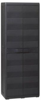 Пластиковый шкаф Toomax Elegance S 2 двери Черный (5667kmd)