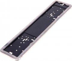 Рамка номера Vitol РН-60050 нержавеющая сталь