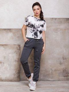 Спортивні штани ISSA PLUS 12400 L Темно-сірі (2000942185870)