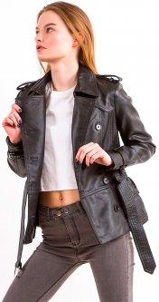 Куртка из искусственной кожи Remix 1871 S Черная (2950006442428)