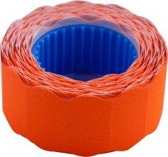 Этикет-лента Buromax 22 х 12 мм 500 этикеток фигурная внешняя намотка 10 шт Оранжевая (BM.282201-11)