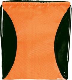 Сумка для обуви Cool For School с отделением под куртку Черно-Оранжевая (CF80328-06)