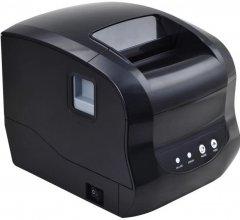 Принтер этикеток и чеков Xprinter XP-365B Black