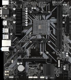 Материнская плата Gigabyte B450M S2H V2 (sAM4, AMD B450, PCI-Ex16)