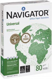 Бумага офисная Navigator A4 80 г/м2 класс A+ 500 листов Белая (5602024006102)