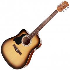 Гитара электроакустическая Richwood RD-12LCESB (левосторонняя) (17-4-22-4)