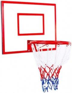 Баскетбольный щит детский Newt Jordan с кольцом и сеткой 600 х 450 мм (NE-MBAS-1-300G)