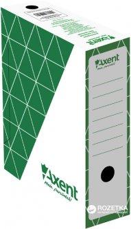 Набор архивных боксов 10 шт Axent для документов А4 100 мм Зеленый (1732-04-A)