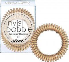 Резинка-браслет для волос Invisibobble Slim Bronze Me Pretty 3 шт (4260285377372)