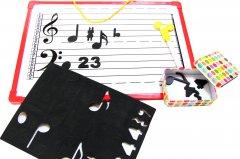Магнитный нотный стан и ноты Руді (4824003008995)