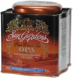 Чай черный рассыпной Sun Gardens OPA 150 г жестяная банка (4820082704841)