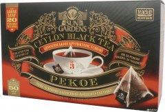 Чай черный Sun Gardens Pekoe 20 пакетиков-пирамидок по 2.5 г 50 г (4820082707415)