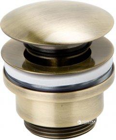 Донный клапан для раковины GENEBRE Luxe 100211 43 бронза