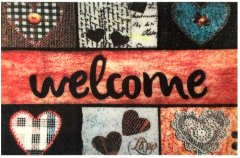 Придверный коврик Izzihome Magic Welcome Kalpler 40х60 (2200000551122)