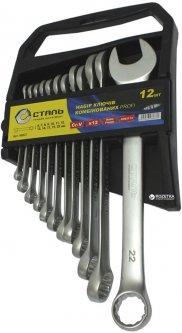 Набор ключей комбинированных Сталь CRV 12 шт (69210)
