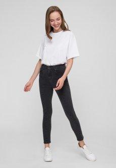 Джинсы WhyNotDenim Jeans skinny черно-серые W30 (js1-30)