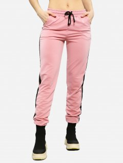 Спортивные брюки ISSA PLUS 11502 L Розовые (issa2000276035674)