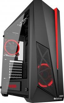 Корпус AZZA Thor 320 Black-Red (CSAZ-320)