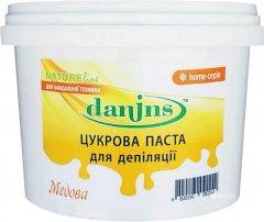 Сахарная паста для депиляции в домашних условиях Danins Медова 500 г (4820191092242)