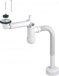 Сифон для раковины PREVEX Preloc со сливной гофрой 32/40 мм (PR3-D4NF3-001)