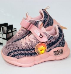 Кроссовки Alemy Kids FS2908F-LED 26 16.0см розовый