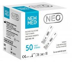 Тестовые полоски для глюкометра NEWMED Neo 50 шт S0217