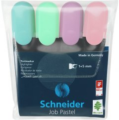 Набор маркеров текстовых Schneider Job 150 1-4.5 мм в блистере 4 шт (S115098)